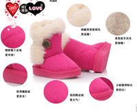 2013 Winter explosion models thick snow boots children 's shoes super soft warm suede slip toddler shoes