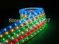 4roll/lot wholesale 5M per Roll LED Strip IP67 Waterproof 300pcs LED SMD 3528 LED Lighting 12V 60LED/M Free Shipping