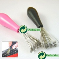 New arrive: Comb Hair Brush Cleaner Cleaning Remover Embedded Plastic Handle Tool wholesale