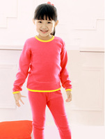 2-8 year-old children thermal underwear, thick cotton underwear sets