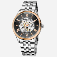 EYKI Brand Automatic Mechanical Hand Wind Watch for Men/ Men's Skeleton Wrist Watches With Roman Numbers EFL8626AG