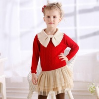New winter autumn infant baby sweater boy girl child sweater baby turtleneck sweater children outerwear High Quality