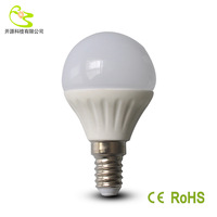Free shipping 3W 5W ceramic Bulb led bulb lamp SMD 2835 700lm E14 85-265V warm white/white led bulb e14
