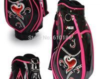 2013 hot Wholesale women pgm golf ball bag ,standard ball bag set rod bag .hairt ball bag,free shipping