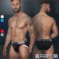 6pcs/lot High Quality  Man Underware /Boxer Briefs/ Man Briefs Sexy Shorts Underpants Mixed color Free shipping by HK POST 1228