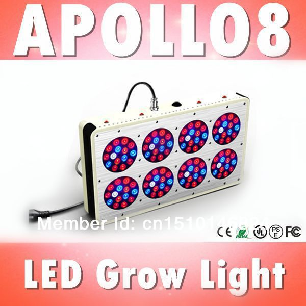 Apollo 8 120*3W LED grow light Red:Blue=8:1 for Agriculture Greenhouse, hydroponic light module, 660nm, 3w chip (Customizable)(China (Mainland))