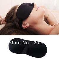 3pcs Sleeping Eye Mask Eye Shade Blindfold Shade Cover for Travel Sleep Black