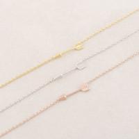 $10 free shipping 2014 fashion vintage rose gold Arrow Bracelet mix color charm bracelets
