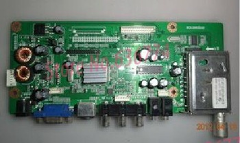 Lcd board screw head ntsc pal ntsc tuner b . hvb21d-lvds tv board