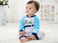 NEW 2013 Fall Winter Long Sleeved Baby Romper 100% cotton Cartoon Rompers for 6M-18M boys and girls Bodysuit,Baby Clothes