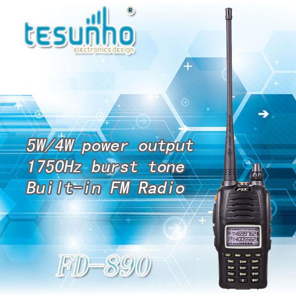 FEIDAXIN FD-890 high quality handheld fm industrial long range vhf/uhf radio walkie talkie(China (Mainland))