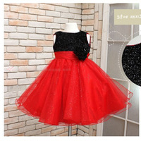 Retail paillette princess dresses female child one-piece dress tulle dress free shipping