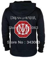 Dream Theater Hoodies Hot sell high quality clothing jacket hot brand rock sweatshirt items skull punk death dark metal