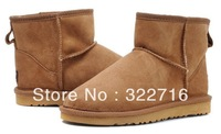 High quality women's men's lover designer winter snow boots low winter shoes cow muscle outsole
