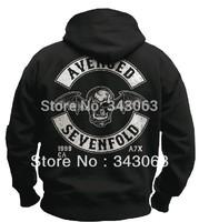 Avenged Sevenfold A7X hoody Hoodies Hot sell high quality clothing jacket hot brand rock sweatshirt items skull punk  02