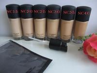 30pcs/lot Free shipping makeup liquid Foundation Studio fix fluid SPF 15 Foundation 30ML (NC15,NC20,NC25,NC30,NC35,NC40)