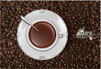 Hot sale!!! 2013 Newest Home Decoration Product Fashion Creative Coffee Time Wall Clocks