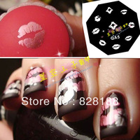 Fashion nail arts Nail art decal DIY nail tools Nail art template wholesale Free shipping