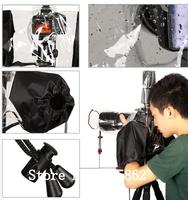 Professional Rubber Camera Rain Cover Coat Bag Protector Rainwear Waterproof Against Dust for C/Pendax Sny DSLR SLR