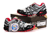 FREE Shipping new arrival salomon shoes,athletic shoes, men and women sports shoes,running shoes, 22 color Size:40-46