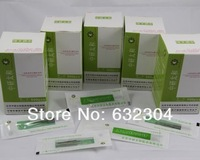 Freeshipping  Disposable Sterile Acupuncture Needle  For Single Use (500pcs/box)  10boxes a lot = 5000pcs / lot