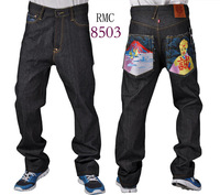 Free Shipping!  New Arrival Brand New RMC Jeans Men Cheap Price High Quality  Monkey Pants Denim Cotton Jeans  LBRMC8503-8510