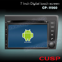 7 inch Android CP-V060 spceial car dvd player with dvd/gps/blue-tooch/ipod/RDS/WIFI/3G/SD/map(option) FOR VOLVO S60 / V70 NEW