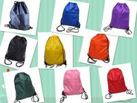 Free Shipping, 10pcs/lot High Quality Gym Drawstring Liberty Sports Bag Durable Nylon Bags Drop Shipping, BT0005