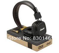 Genuine Original Marshall Major Leather Noise Cancelling Deep Bass Stereo Monitor DJ Hi-Fi Headphones Headset W/ Remote & Mic