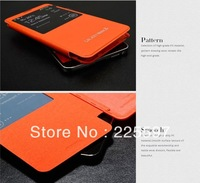Wholesale 100pcs/lot Luxury Leather Smart View Flip Cover Battery Case Cover For Samsung Note 3 N9000 N9005