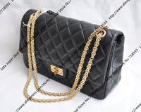 31CM Double Flap Bag / Designer Women Reissue Bag With Optional Aged Silver / Golden Chain & Soft Lambskin (BG131)