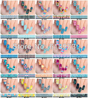 FREE SHIPPING + 50sheets/lot DIY Watermark transfer nail sticker for wholesale & Retails Item