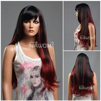 Wholesale New 2013 Long Straight Wig For Women,100% Kanekalon Nawomi Wigs Fashion