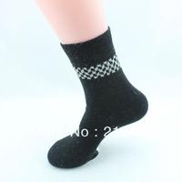 Thermal socks men rabbit wool socks warm winter socks male thick long winter men's shoes socks wool 5pairs/lot  free shipping