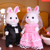 Fashion and Lovely Children Playing House Parts Toy Doll Animals
