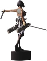 Japanese anime Attack on Titan Mikasa Ackerman PVC Action Figure toys 14 CM height free shipping