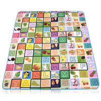 Large thickening baby crawling mat infant play mat waterproof double face crawling blanket child mats