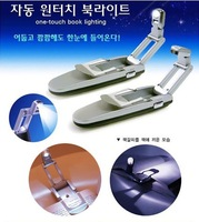 Super Bright LED Clip On Adjustable Book Reading Light For Beds