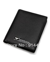 Free Shipping 2013 New Septwolves Brand Purse Genuine Leather Man Purse Wallet For Men Leather Coin Wallet Card Holder Purse