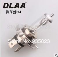 Free Shipping 2pcs New H4 Halogen Xenon Low Beam Light Bulbs P43T 6000K 12V 60/55W fog lights led