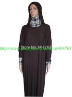 JNA031  clearance SALE Two pcs HIJAB to choose 124CM TO 141CM islamic clothing LONG MUSLIM ABAYAS