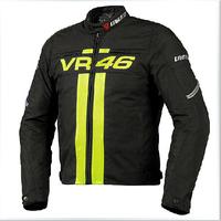 new genuine 46 motorbike jacket motorcycle jacket motorcross racing jacket with protctive gear size M- XXXL