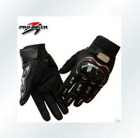 Free shipping!  Motorcycle gloves motorbike glove motorcross full finger carbon fiber gloves Size M /L /XL/XXL