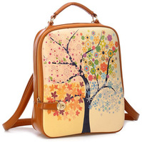 Retail Fashion Korean Style Fancy Printing shoulder bag, Quality Gaurantee, made with PU, 4 models available