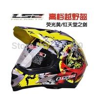 new genuine LS2 motocross helmet motorcross helmet motorcycle helmet size XL /XXL brand top quality DOT
