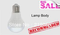 50pcs/lot 3w 5w 7w LED Plastic Bulb E27 LED light warm White/Cold white lamp for home bedroom Bubble Ball Bulb light