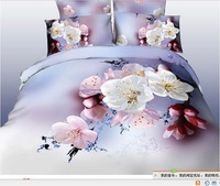 Free shipping! Explosion models cotton 3D pattern Family of four bedding set full size duvet covers / bed sheet / Pillowcase
