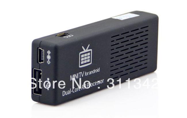 Android 4.1 MK808 Dual Core RK3066 A9 1080P Mini PC TV Box IPTV Blutooth WIFI 3D(China (Mainland))