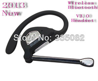 Free Shipping Wireless V2.1 Bluetooth Headset Earphone Handsfree for all phone ,Bluetooth stereo headset,Bluetooth speaker
