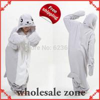 Novelty Festival Carnival Novelty Animal Anime Grey seal Autumn & winter hooded pajamas,Unisex Halloween party Cosplay Costume